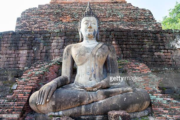 Buddha in the Sukhothai Historical Park