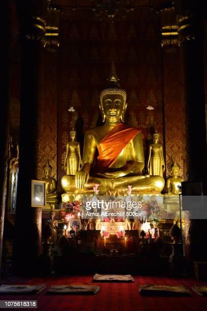 buddha in the Wat Sensoukharam