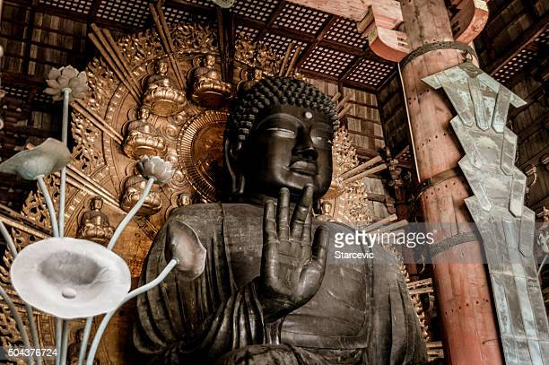 Buddha-statue im Todaiji-Tempel in Japan