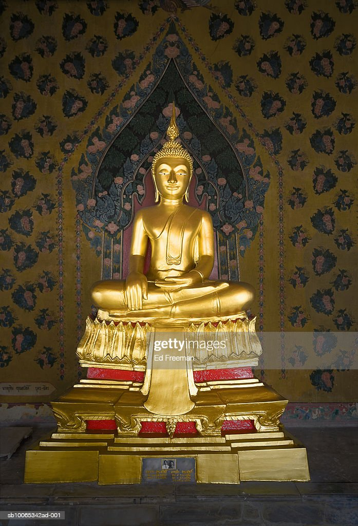Buddha statue at Wat Arun temple : Foto stock