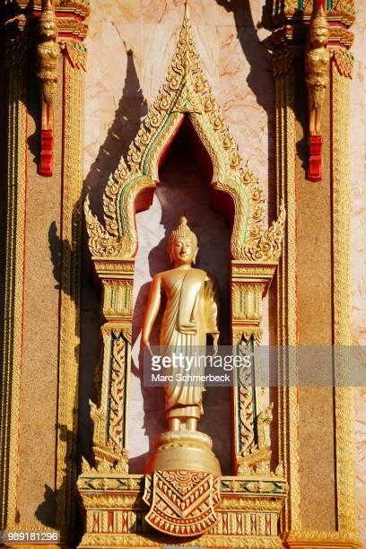 Buddha statue at Wat Chalong, Phuket, Thailand