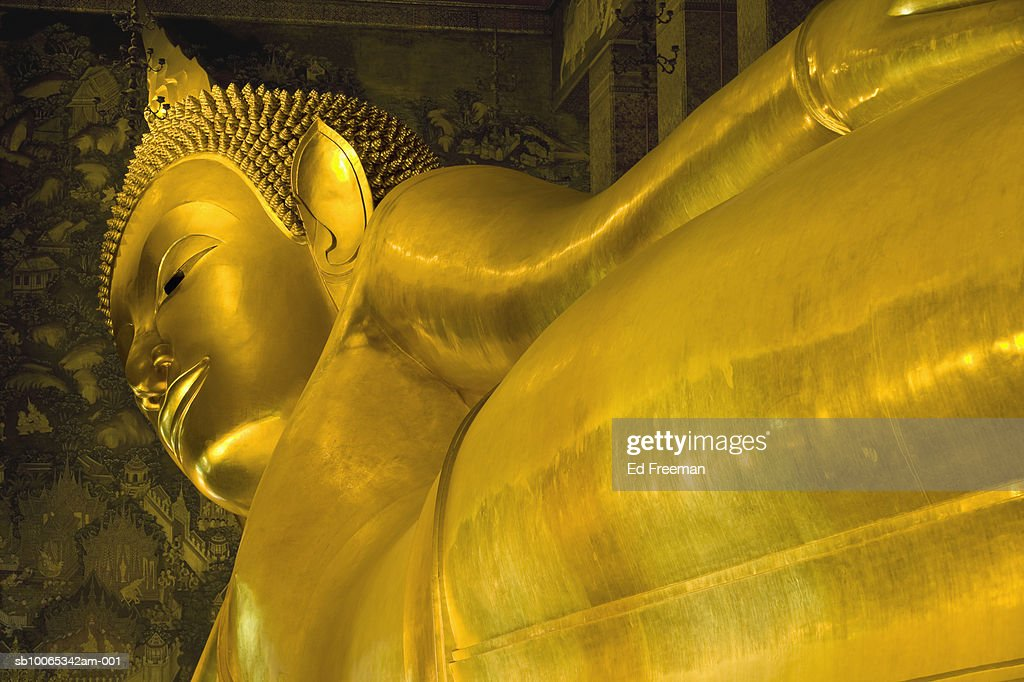 Buddha statue at Wat Pho temple : Foto stock