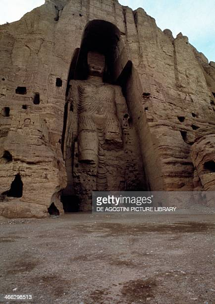Buddha statue Bamiyan Afghanistan 5th century It was destroyed by the Taliban in March 2001