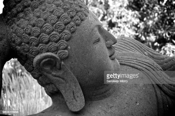 a buddha statue in india. - 仏陀 ストックフォトと画像