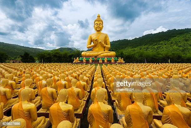 Buddha statue in temple at Thailand