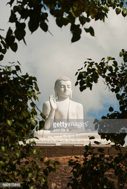 buddha statue - mihintale stock pictures, royalty-free photos & images