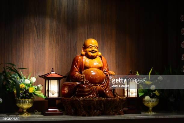 buddha statue - santa - fotografias e filmes do acervo