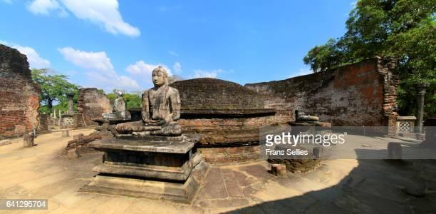Buddha statues of the Vatadage, Polonnaruwa, Sri Lanka