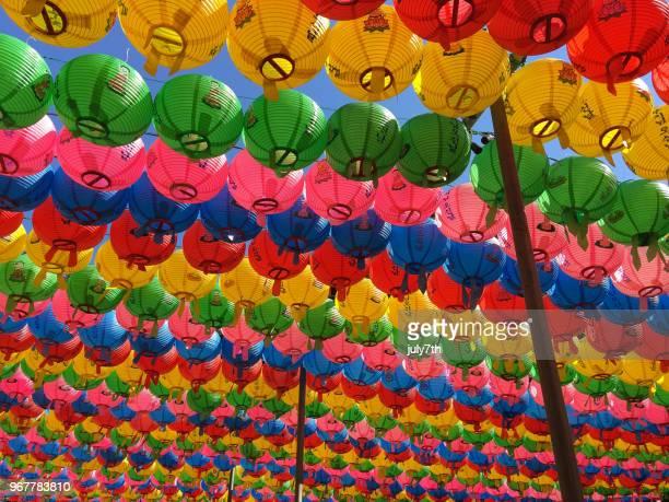 Buddha's Birthday Lotus Lanterns