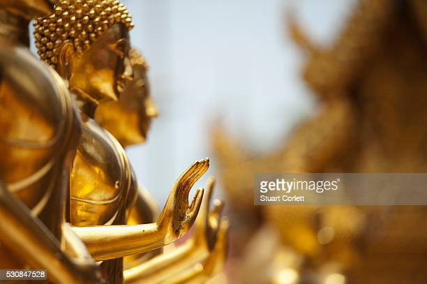 Buddha's Hands Stretched Out At Doi Sutep Temple, Chiang Mia, Thailand