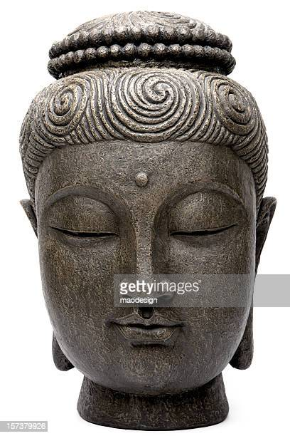 buddha's head - buddha stock photos and pictures