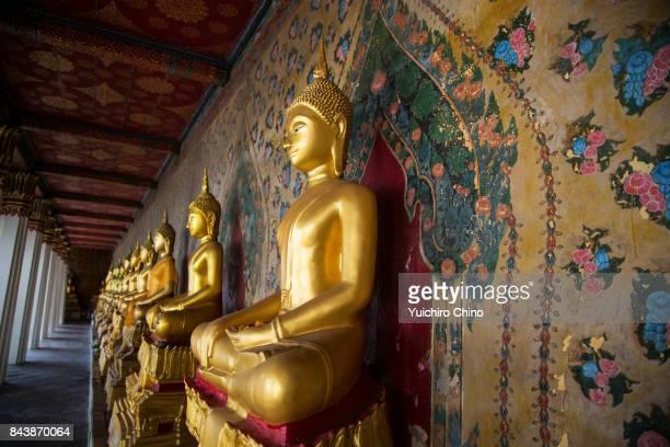 Buddhas, Wat Arun, Bangkok, Thailand