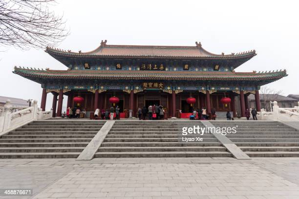 buddhism temple in tianjin - liyao xie stock pictures, royalty-free photos & images