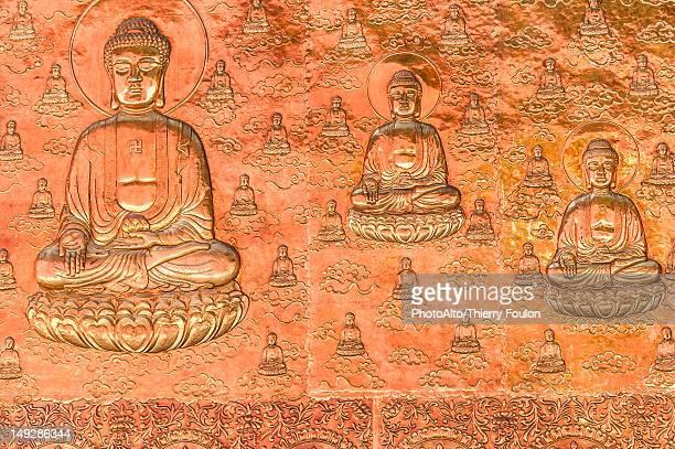 Buddhist bas-relief