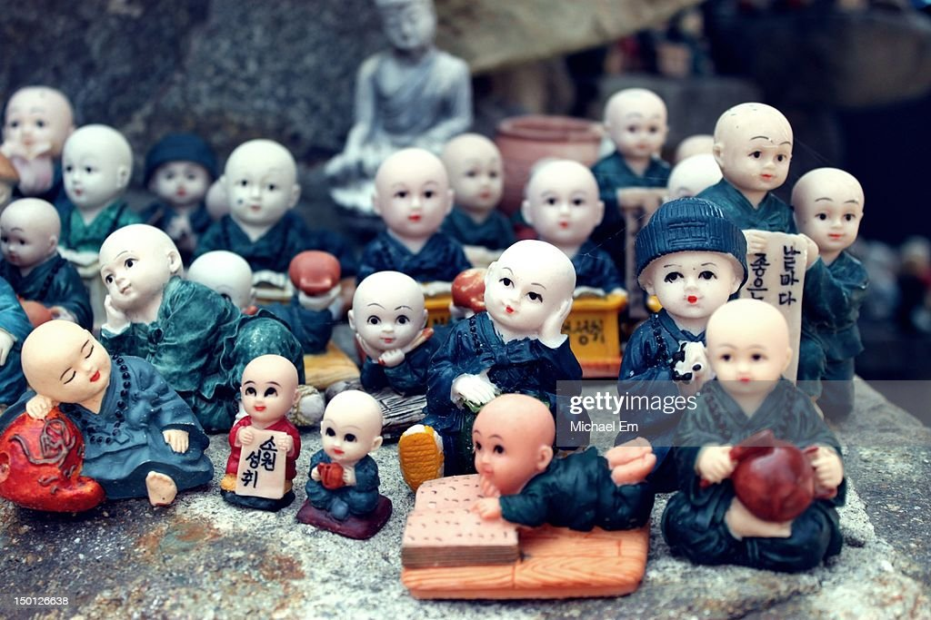 Buddhist dolls : Stock Photo