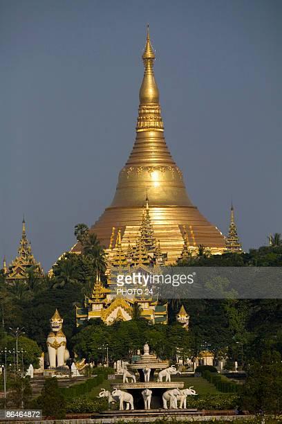 Buddhist monastery,  Burma