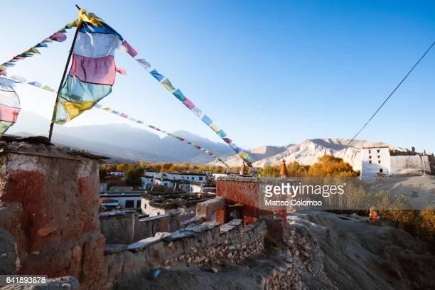 Buddhist monastery, Charang, Upper Mustang, Nepal