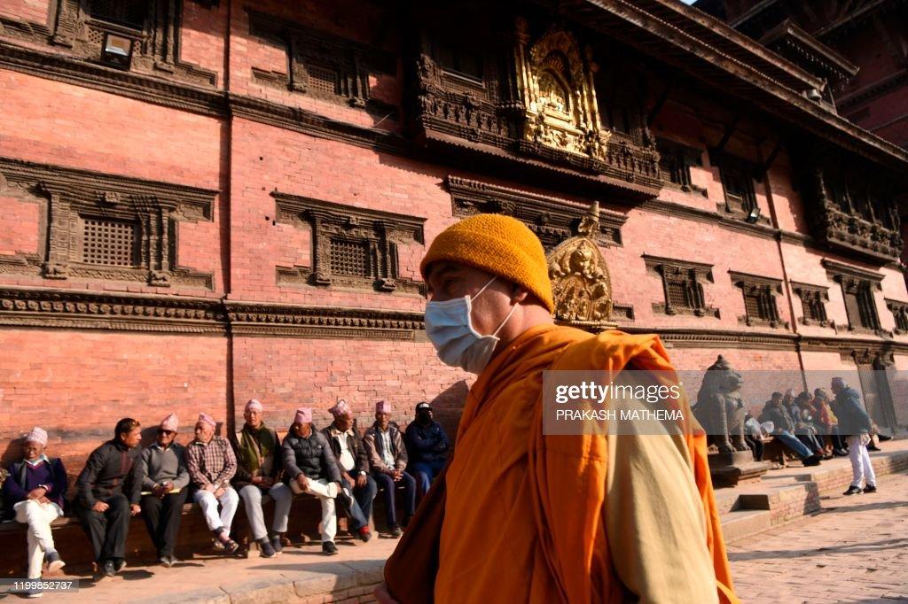NEPAL-CHINA-HEALTH-VIRUS : News Photo
