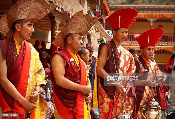 Buddhist Monks, Ladakh, India