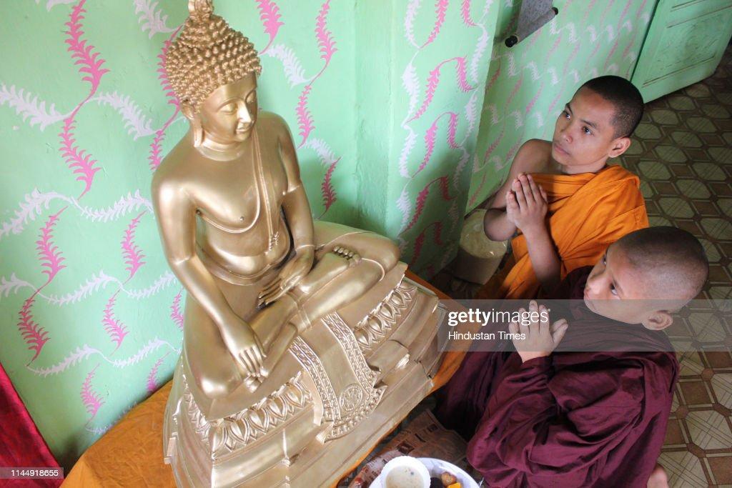 IND: Devotees Celebrate Buddha Purnima