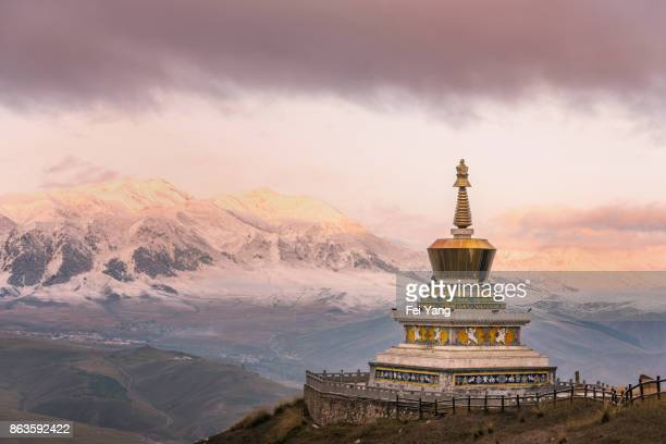 Buddhist pagoda of Tibet