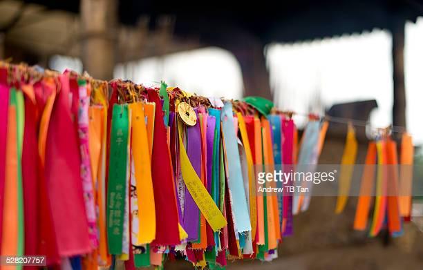 Buddhist Prayer Ribbons