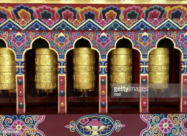 Buddhist Prayer Wheels