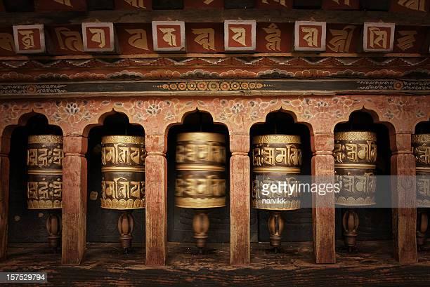 Buddhist Praying Wheels