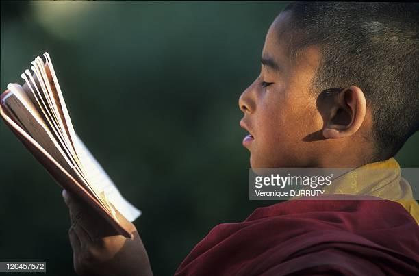 Buddhist School Lamayuru Monastery Ladakh in India