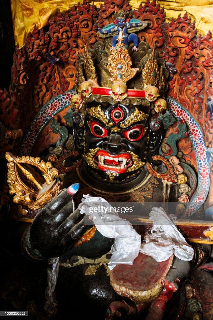 Buddhist statue : Foto de stock