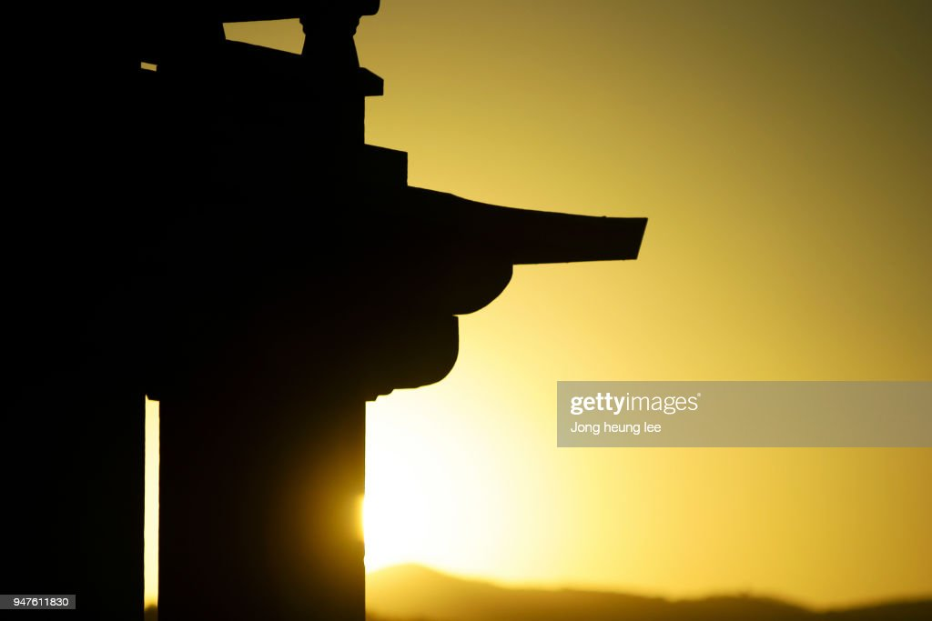 Buddhist stone pagoda : Stock Photo