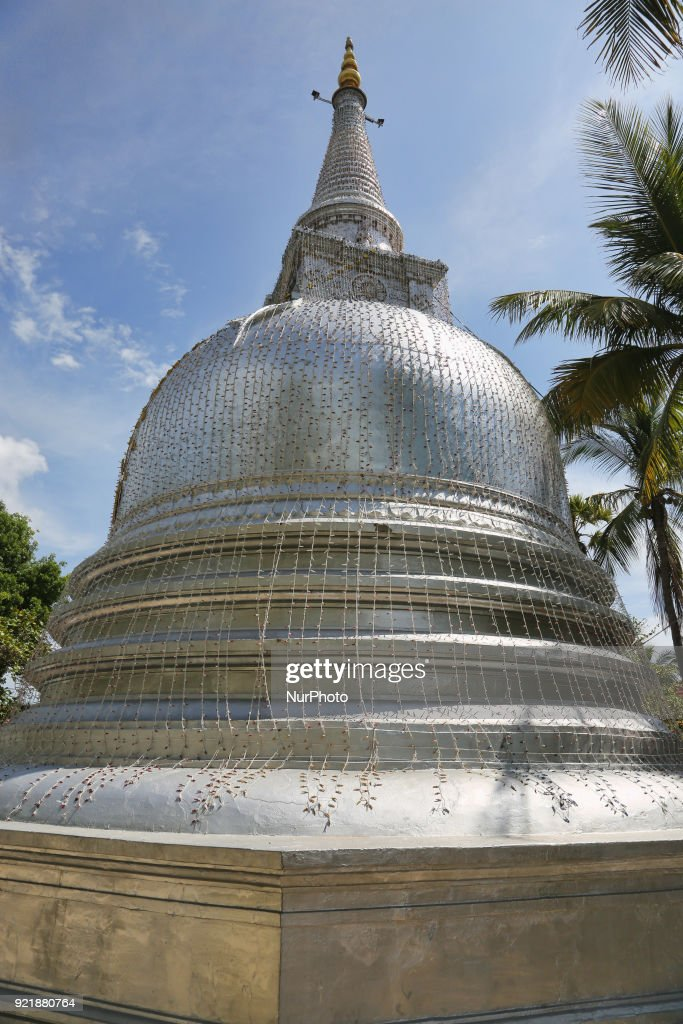 Nagadipa Vihara Buddhist Temple in Sri Lanka : News Photo
