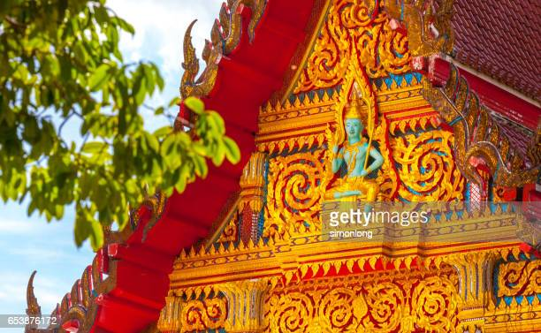 Buddhist Temple at Phuket Thailand
