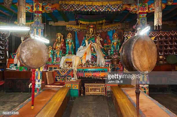 Buddhist temple image of Padmasambhava