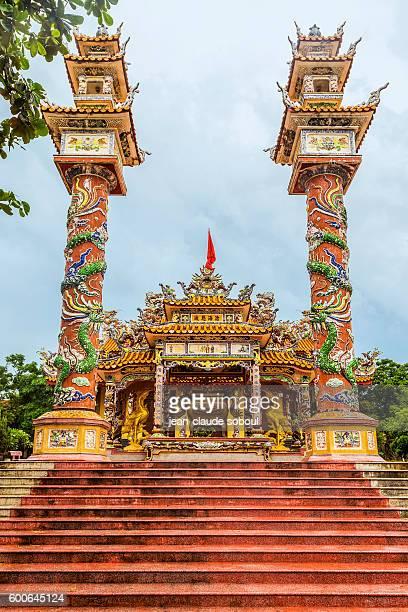 Buddhist Temple in Hue city (Vietnam)