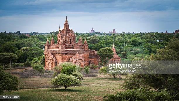 Buddhist temple in Myanmar
