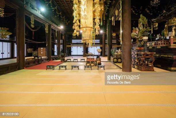 Buddhist temple interior