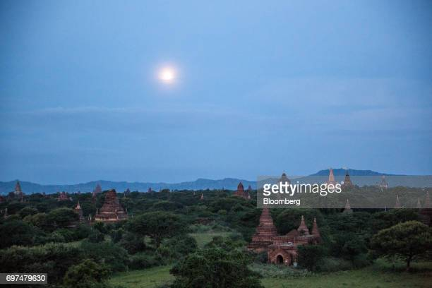Buddhist temples and pagodas stand at sunrise in Bagan Myanmar on Saturday June 10 2017 When the country opened to the outside world in 2011 after...