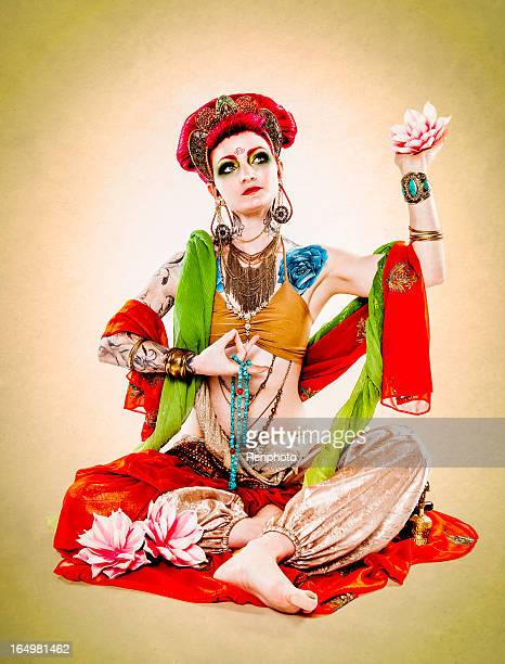 buddhist woman - buddhist goddess stock pictures, royalty-free photos & images