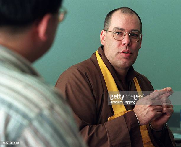 LSBuddhist10130ARfReverend Kusala is a Buddhist monk originally from Iowa speaks to students at a Buddhist club meeting at Cal Poly Pomona The US is...
