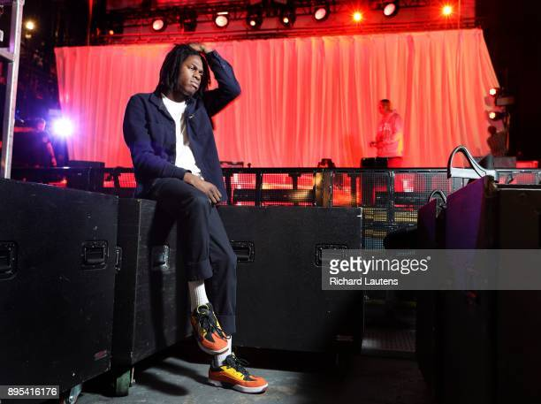 TORONTO ON DECEMBER 16 Budding Oshawa RB superstar Daniel Caesar is seen during the setup at the Danforth Music Hall His career is taking off and...