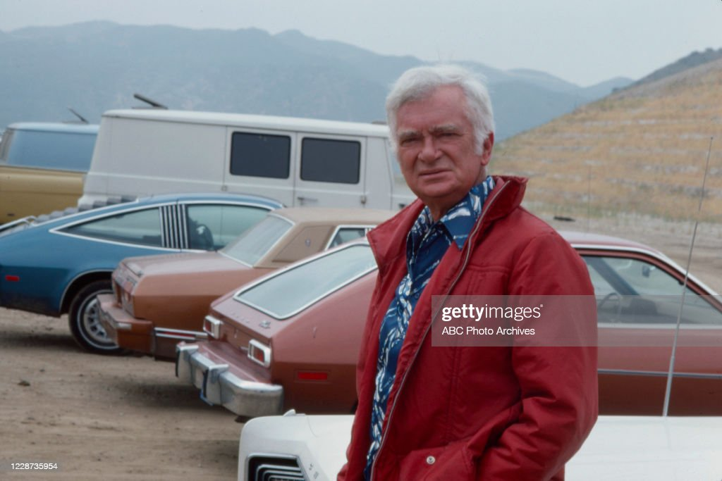 Buddy Ebsen Appearing In 'Smash-Up On Interstate 5' : News Photo