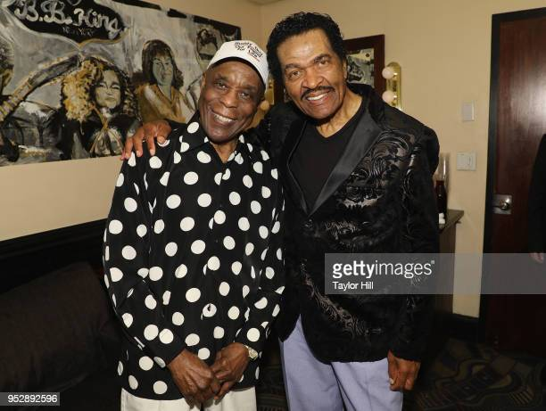 Buddy Guy and Bobby Rush perform onstage during BB King Blues Club Grill's Final Show With Buddy Guy at BB King on April 29 2018 in New York City