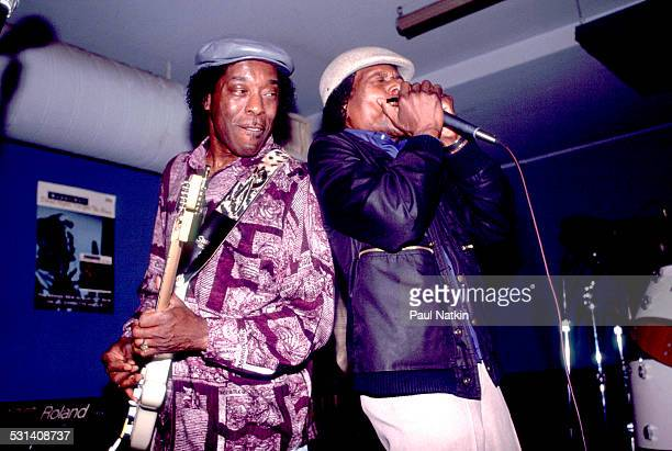 Buddy Guy and Junior Wells performing Chicago Illinois January 25 1992