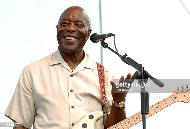 Buddy Guy during Bonnaroo 2006 Day 2 Buddy Guy at Which Stage in Manchester Tennessee United States