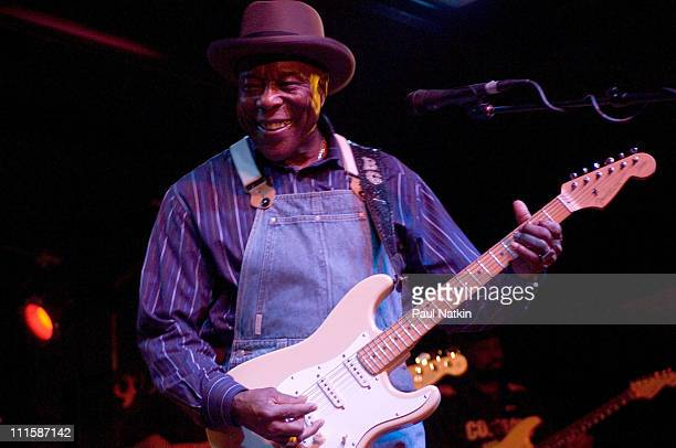 Buddy Guy during Buddy Guy in Concert at Legends in Chicago January 4 2007 at Legends in Chicago Illinois United States
