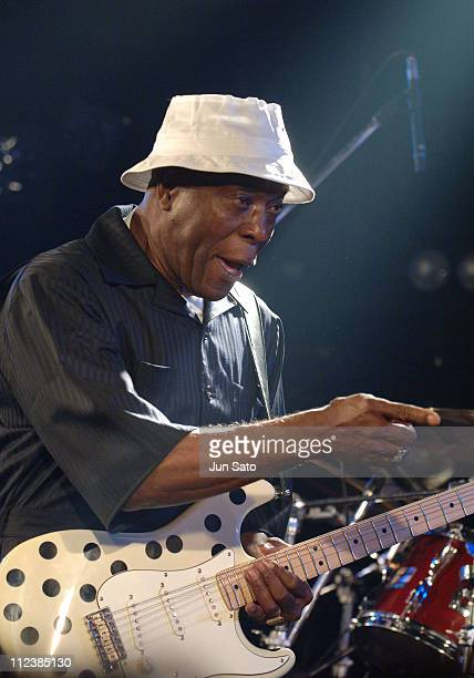 Buddy Guy during Buddy Guy In Concert At Shibuya Club Quattro June 3 2005 at Shibuya Club Quattro in Tokyo Japan