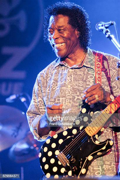 Buddy Guy guitar performs at the North Sea Jazz Festival on July 14th 2002 in Amsterdam Netherlands