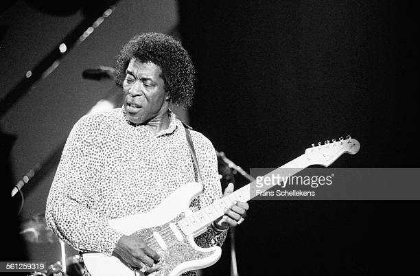 Buddy Guy guitar performs on July 14th 1991 at the North Sea Jazz Festival in the Hague Netherlands