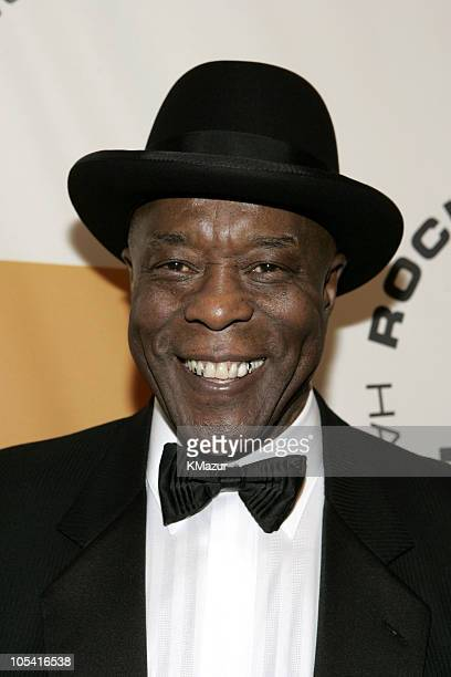 Buddy Guy inductee during 20th Annual Rock and Roll Hall of Fame Induction Ceremony Red Carpet at Waldorf Astoria in New York City New York United...